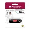 USB Флешка 16Gb Transcend JetFlash 590, Black-Red