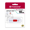 USB Флешка 16Gb Transcend JetFlash 590, White-Red