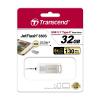 USB Флешка 32Gb Transcend JetFlash 850S, USB 3.1 (Type-C), Silver