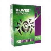 Антивирус Dr. Web, 12 мес., 1 ПК, Электронный ключ