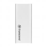Внешний SSD накопитель 120Gb, Transcend ESD240C, Silver (TS120GESD240C)