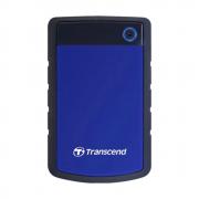 "Внешний жесткий диск 1000Gb 2.5"", Transcend StoreJet 25H3, Black/Blue (TS1TSJ25H3B)"