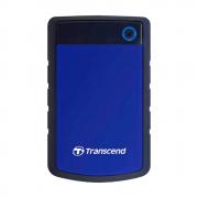 "Внешний жесткий диск 2000Gb 2.5"", Transcend StoreJet 25H3, Black/Blue (TS2TSJ25H3B)"