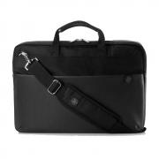 "Сумка для ноутбука HP Duotone Briefcase, 15.6"", Black-Silver (4QF95AA)"