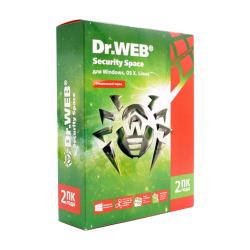 Антивирус Dr. Web Security Space, 12 мес., 5 ПК, Электронный ключ