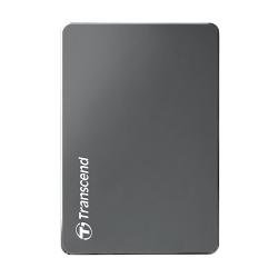 Внешний жесткий диск 1000Gb 2.5 , Transcend StoreJet 25C3, Gray (TS1TSJ25C3N)