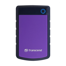 "Внешний жесткий диск 2000Gb 2.5"", Transcend StoreJet 25H3, Black-Violet (TS2TSJ25H3P)"