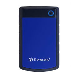 "Внешний жесткий диск 4000Gb 2.5"", Transcend StoreJet 25H3, Gray-Blue (TS4TSJ25H3B)"