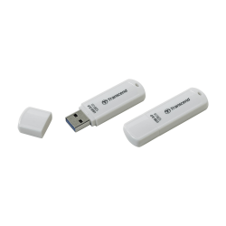 USB Флешка 128Gb Transcend JetFlash 730, USB 3.1, White