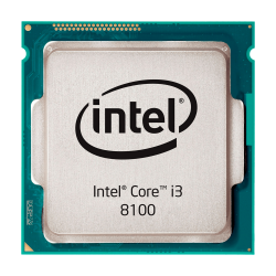 Процессор Intel Core i3 8100, LGA1151, OEM