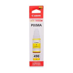 Чернила CANON GI-490 Y, Yellow, 0666C001[AA]
