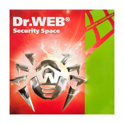 Антивирус Dr. Web Security Space, 12 мес., 3 ПК, Электронный ключ