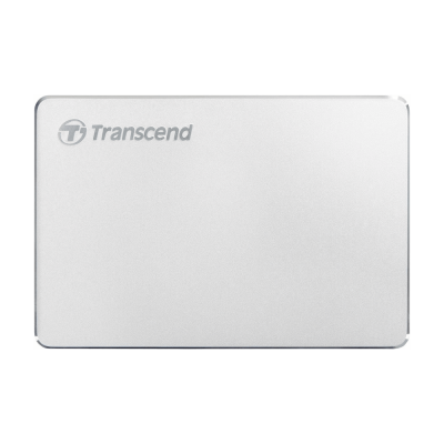 "Внешний жесткий диск 1000Gb 2.5"", Transcend StoreJet 25C3S, Silver (TS1TSJ25C3S)"