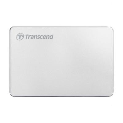 "Внешний жесткий диск 2000Gb 2.5"", Transcend StoreJet 25C3S, Silver (TS2TSJ25C3S)"