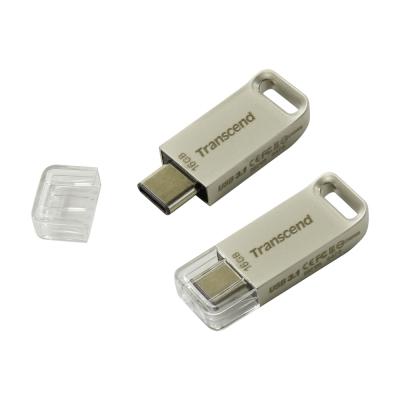 USB Флешка 16Gb Transcend JetFlash 850S, USB 3.1 (Type-C), Gold