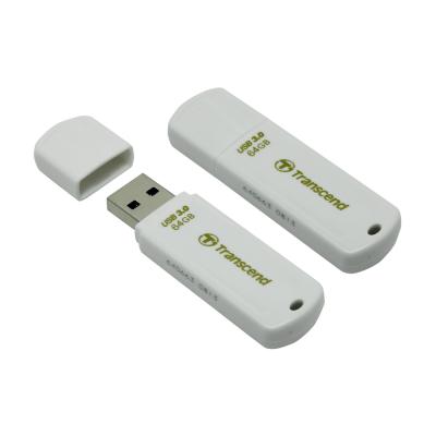 USB Флешка 64Gb Transcend JetFlash 730, USB 3.0, White