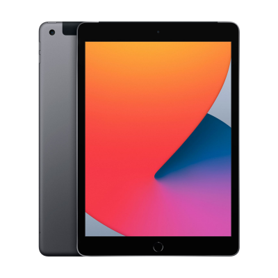 "Планшет Apple iPad A2429 с дисплее Retina 10.2"", 32Gb, Wi-Fi+4G, Space Gray (MYMH2RK/A)"