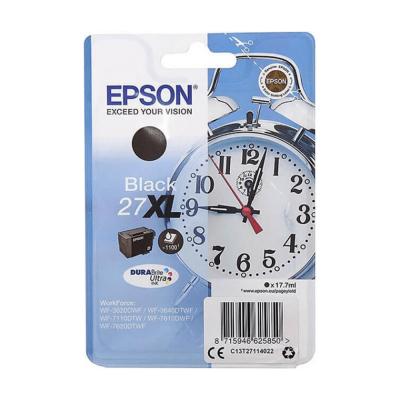 Картридж Epson C13T27114022, Black